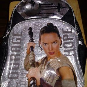 "Star Wars Bookbag 16"" Backpack Book Bag"